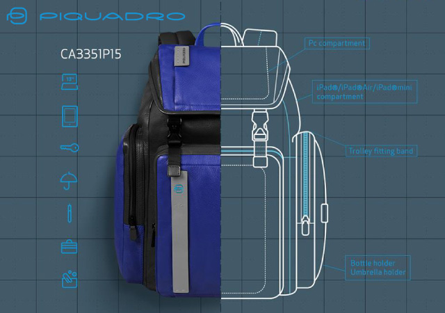 piquadro-backpacks